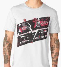 Tobu Comic Art Red Men's Premium T-Shirt
