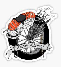 SUSHI RIDER MC Sticker