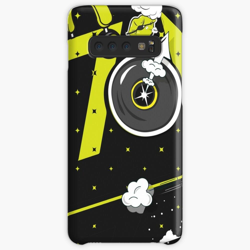 Tobu Yellow Comic Art Case & Skin for Samsung Galaxy