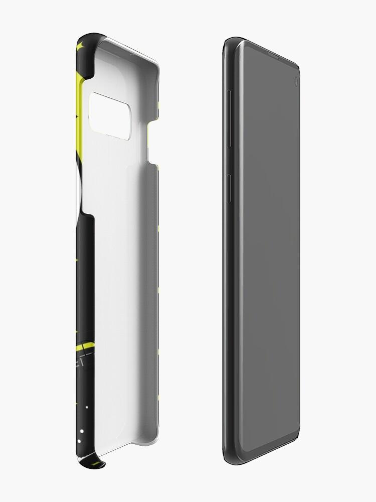Alternate view of Tobu Yellow Comic Art Case & Skin for Samsung Galaxy