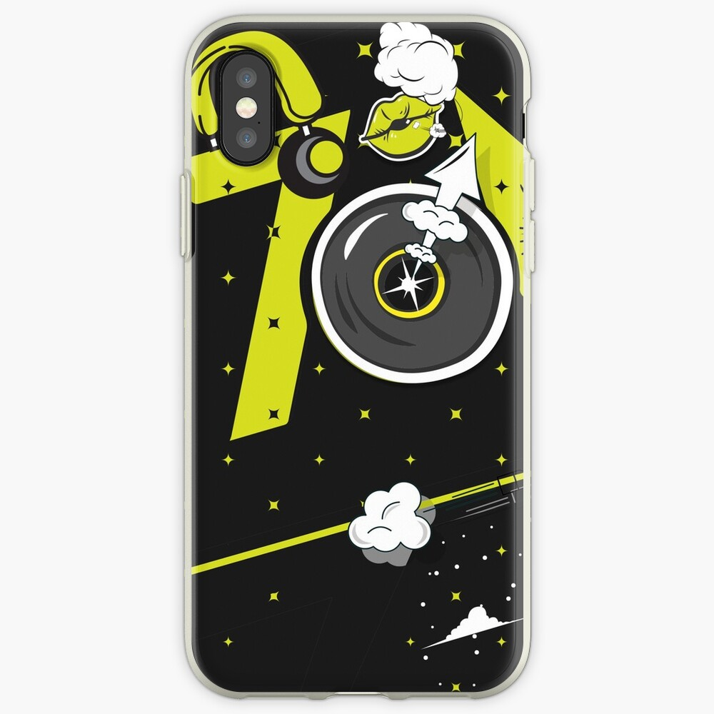 Tobu Yellow Comic Art iPhone Case & Cover