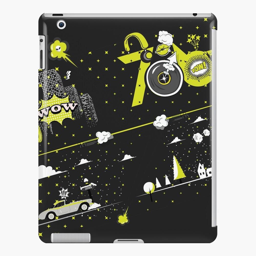 Tobu Yellow Comic Art iPad Case & Skin