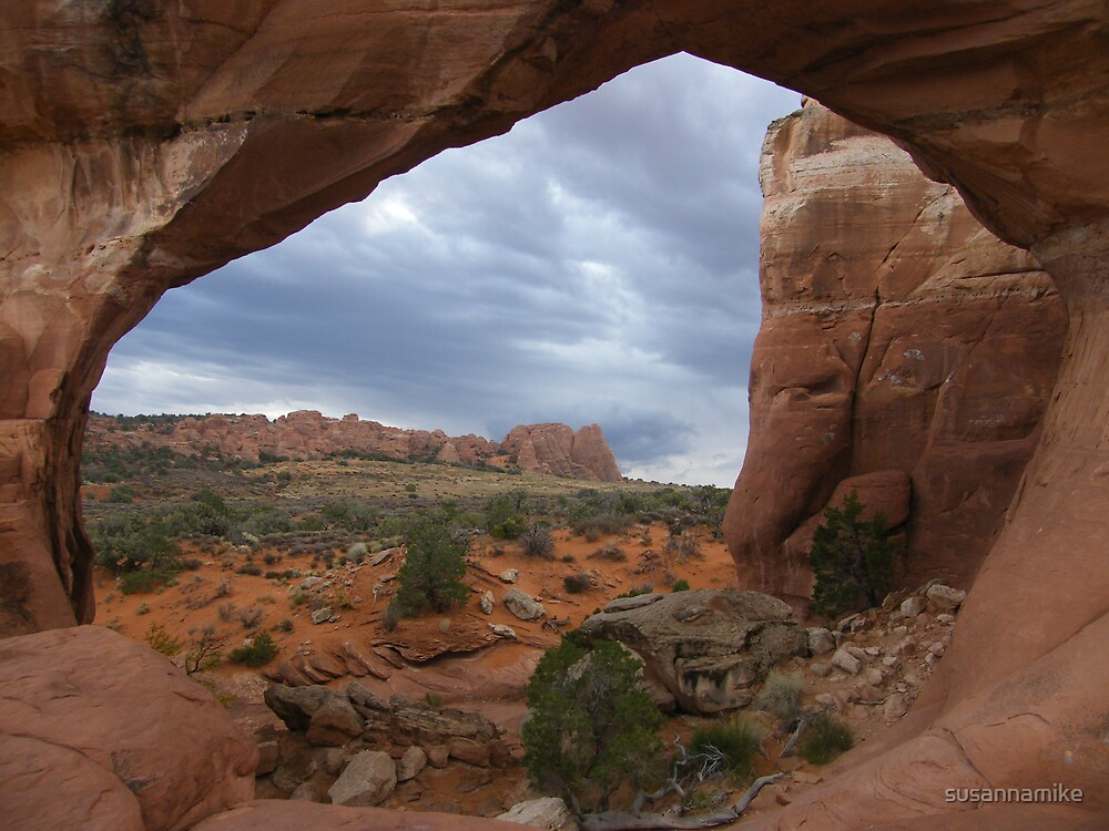 Window into Arches National Park by susannamike