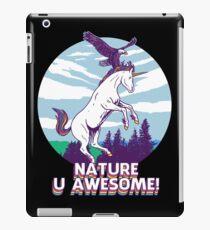 Nature U Awesome! iPad Case/Skin