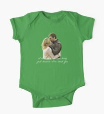 Olicity Wedding Vows - I'm A Better Human Being Just Because I've Loved You  One Piece - Short Sleeve