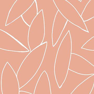 dusty peach leaves by JulesTillman