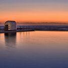 Merewether Baths Sunrise by Bev Woodman