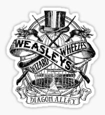 Weasley's Wizard Wheezes Sticker