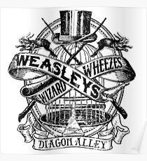 Weasley's Wizard Wheezes Poster
