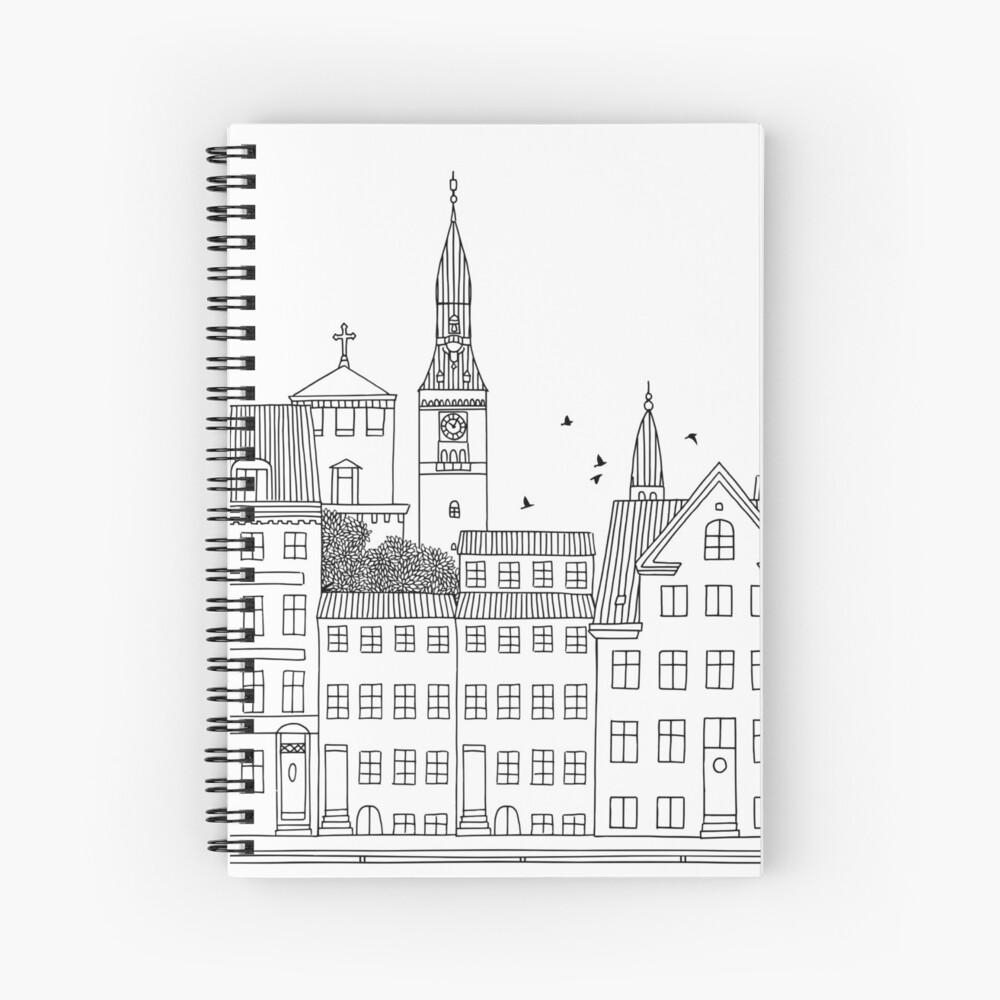 Kopenhagen Spiralblock
