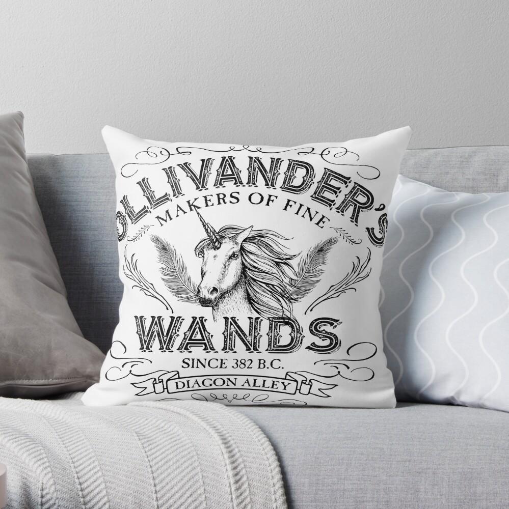 Ollivanders Zauberstab Shop Dekokissen