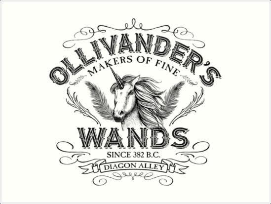 Quot Ollivander S Wand Shop Quot Art Prints By Mindspark1 Redbubble