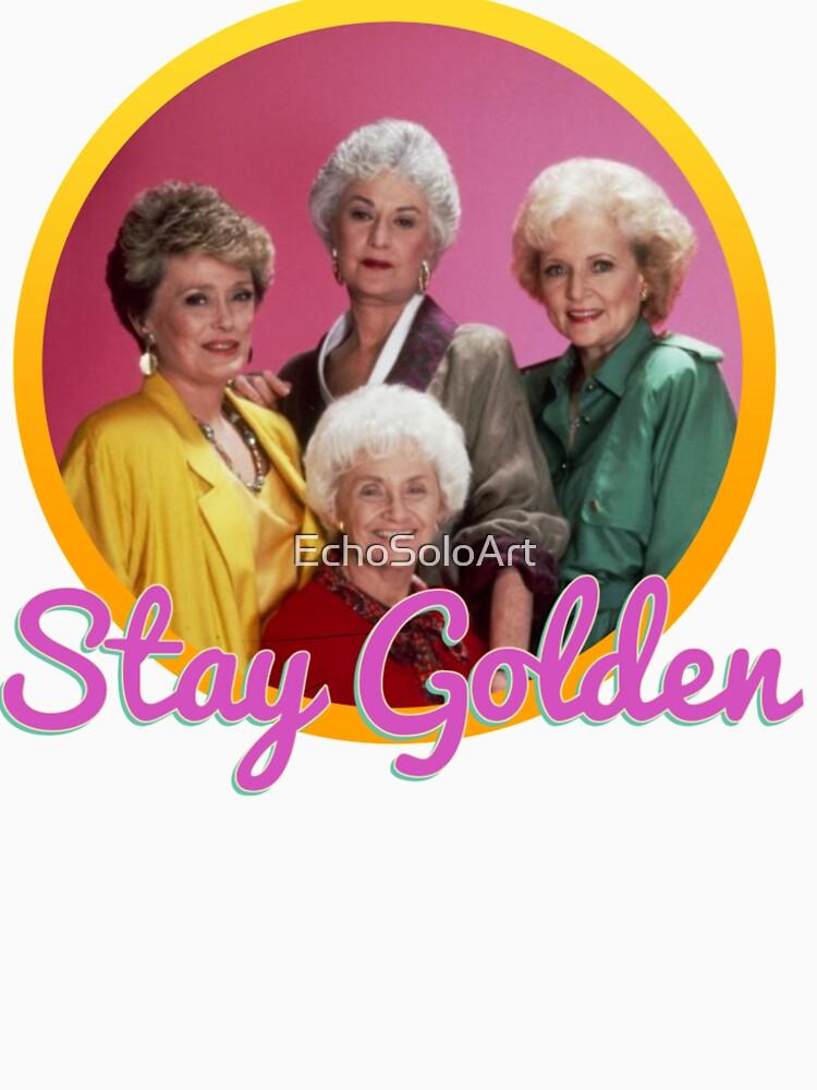 Stay Golden, Girls.  by EchoSoloArt