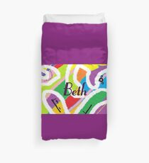 Beth - original artwork to personalize your gift Duvet Cover