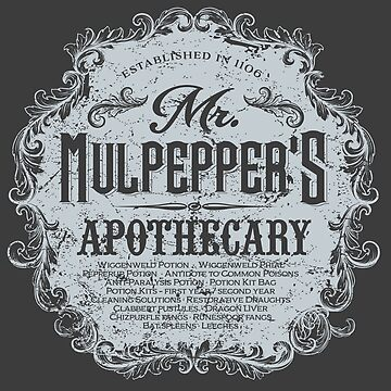 Mr. Mulpepper's Apothecary by Mindspark1