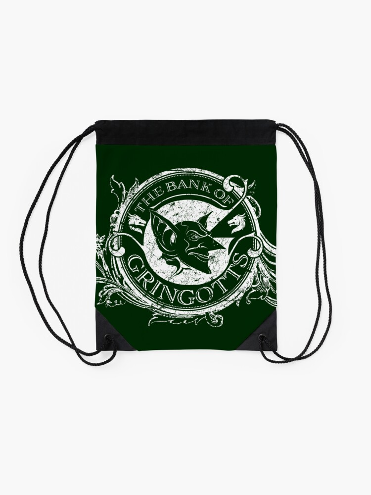 Alternate view of Bank of Gringott's Drawstring Bag