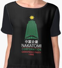 Nakatomi Corporation Christmas Party Tower Chiffon Top