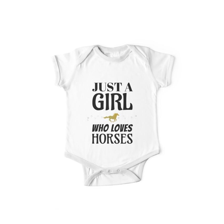 c8e0cfa2d Just A Girl Who Loves Horses Camiseta. Camiseta Horseback Rider. Camiseta  de montar a caballo y camiseta Rocker para montar a caballo para niñas