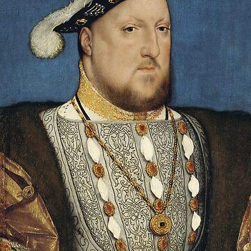 Heinrich VIII. Hans Holbein der Jüngere von warishellstore