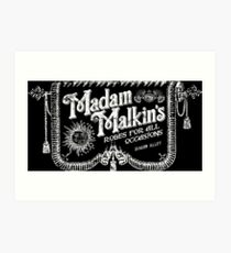 Madam Malkin's Robes for all Occasions Art Print