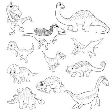 Dinosaurs by julper