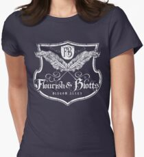 Flourish and Blotts Women's Fitted T-Shirt