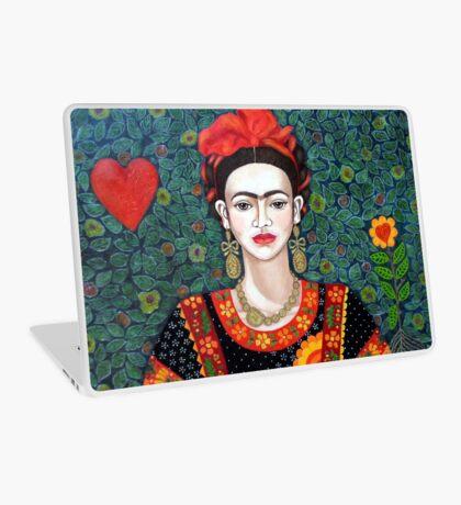 Frida,  Queen of Hearts closer I Laptop Skin