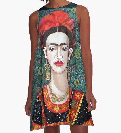 Frida,  Queen of Hearts closer I A-Line Dress