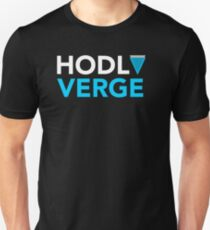 HODL Verge Crypto Currency Unisex T-Shirt