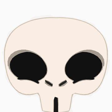 Skull by lemon-oh