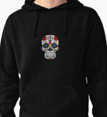 Skull Shirt Pullover Hoodie