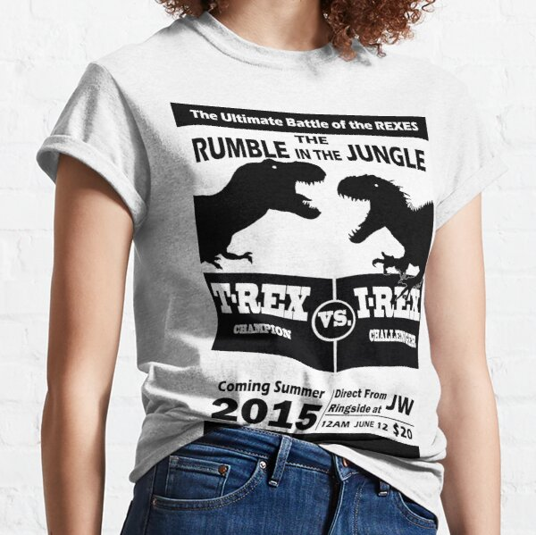 The Rumble in the Jungle Classic T-Shirt