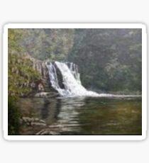 "'Abram's Falls-Cades Cove-Smokies"" Sticker"