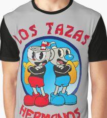 Cuphead Mugman Los Pollos Hermanos Graphic T-Shirt