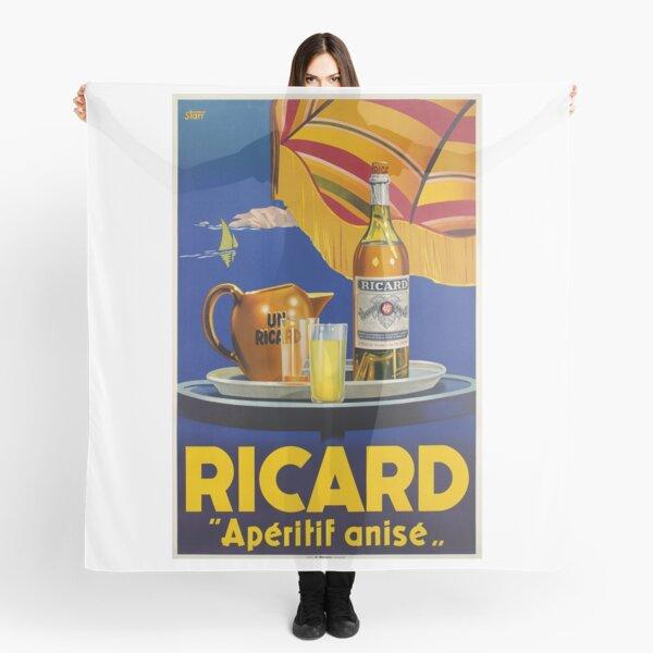 Ricard -Apéritif anisé, Advertisement Poster Scarf
