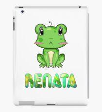 Renata Frog iPad Case/Skin
