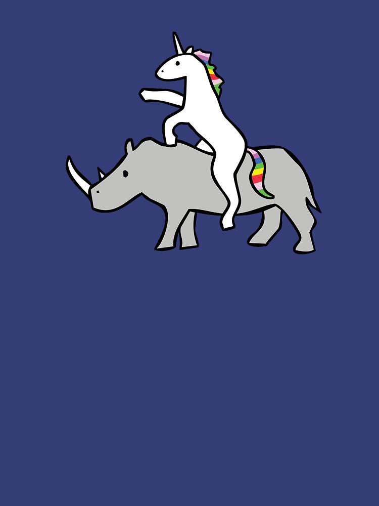 Einhorn Reit Rhino von jezkemp
