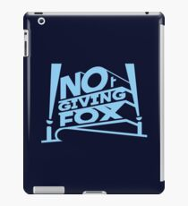 Not Giving Fox iPad Case/Skin
