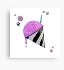 Bubblepop Snowcone Metal Print