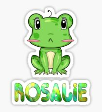 Rosalie Frog Sticker
