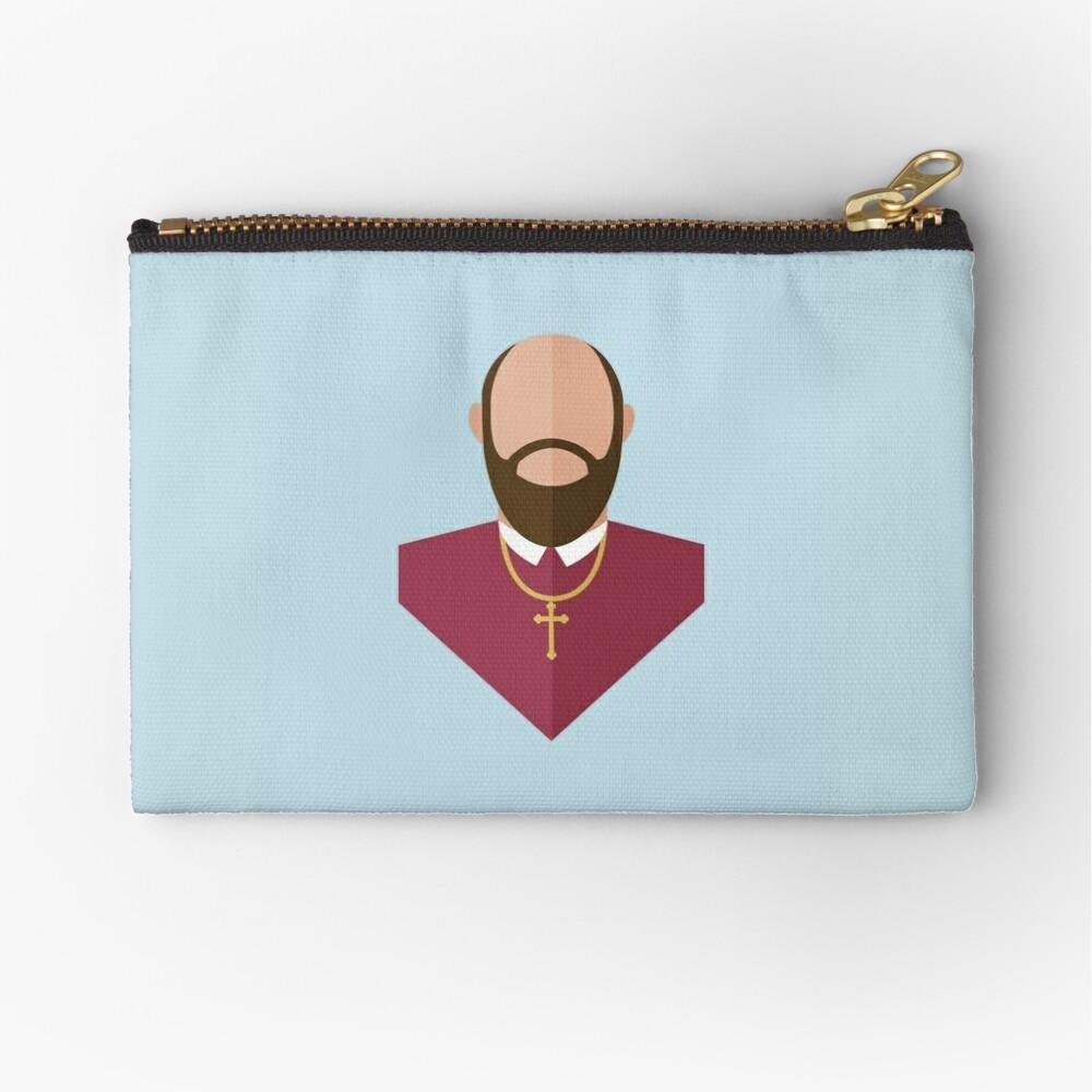 St. Francis de Sales Zipper Pouch