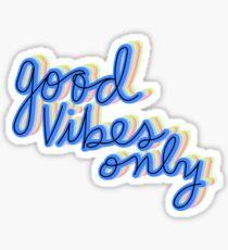 Pegatina Buena vibra solamente