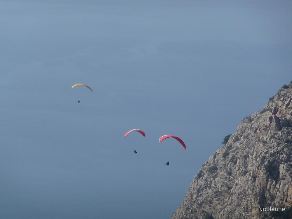 Paragliding by Nobleone