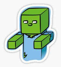 Minecraft Zombie (Hugs!) Sticker