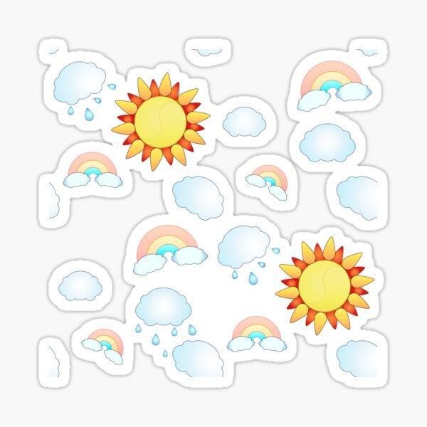 Aurora Fan Sticker