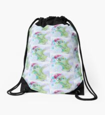 Gilroy the Ghost Drawstring Bag
