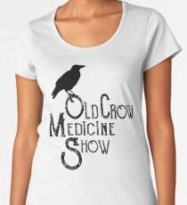 Vintage Old Crow Medicine Show Silhouette Women's Premium T-Shirt
