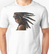 Camiseta unisex Nativos americanos