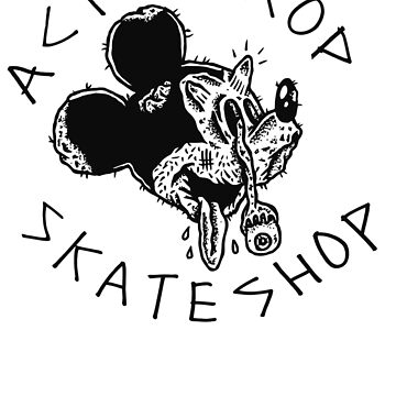 WeaselFace Mickeys Dead- Acid Drop Skate Shop by grindthis
