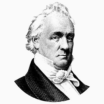 President James Buchanan Graphic by warishellstore